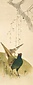 糸桜に双雉之図