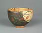 色絵武蔵野図茶碗