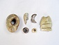 蜆塚遺跡出土蝋石製の首かざり