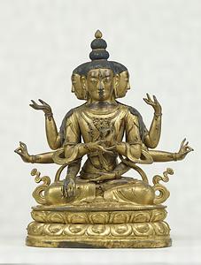 仏頂尊勝母坐像 文化遺産オンライン