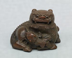彫竹太師少師 文化遺産オンライン