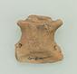 人面装飾付深鉢形土器残片