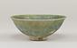 緑釉青海波文鉢