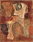 月の肖像(腰かける人)