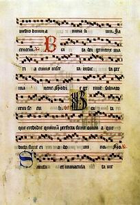 グレゴリオ聖歌譜 文化遺産オンライン