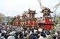 古川祭の起し太鼓・屋台行事
