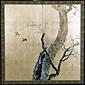 梅に小禽の図
