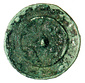 武蔵国分寺跡出土の小型海獣葡萄鏡