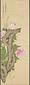 牡丹綬帯鳥図