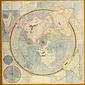 北極中心世界地図