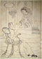 異国男女の図○横浜異国人物図(無題・下絵)