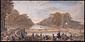 フォンテーヌブロウ運河の景眼鏡絵