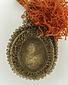聖フランチェスコ・聖人図銅版画入り聖牌