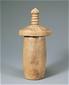 滑石製宝塔形経筒