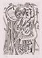 版画集『瑛九・銅版画 SCALE IV』 44 森の小人