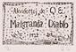 版画集『瑛九・銅版画 SCALE V』 64 「MALGRANDA DIABLO」の扉絵