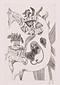 版画集『瑛九・銅版画 SCALE III』 24 おさな児
