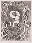 版画集『瑛九・銅版画 SCALE II』 31 流れの中のプロフィル