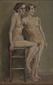 裸体習作 (二人の裸女)