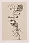 『見える人  浜田知明銅版画集』 3 情報過多的人間