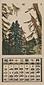 『日本版画協会カレンダー』 昭和13年7月