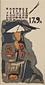 『日本版画協会カレンダー』 昭和17年9月