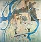 安政二年 和歌山城下町絵図