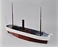 蒸気船雛形(スクリュ−船)