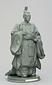 鍋島直正銅像模型(博多人形)