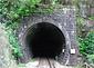 わたらせ渓谷鐵道笠松トンネル