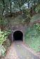 旧魚梁瀬森林鉄道施設 バンダ島隧道