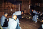 白山神社の田遊び神事