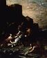 聖ステパノの遺骸を抱え起こす弟子たち