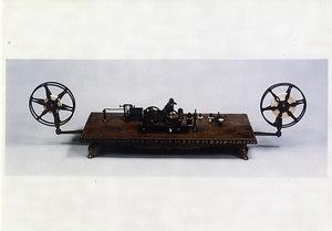 エンボッシング・モールス電信機〈ペリー将来/米国製〉