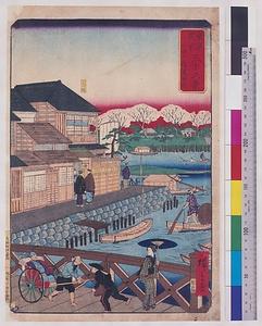 東京開化三十六景 今戸隅田川