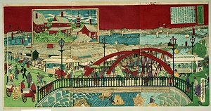 東京浅草橋之風景