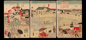 荒布橋従江戸橋之真図 文化遺産オンライン