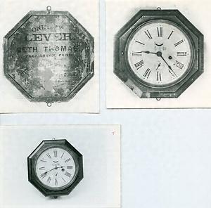 郵便局用の八角時計