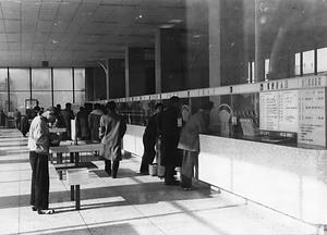 名古屋中央郵便局 窓口の情景