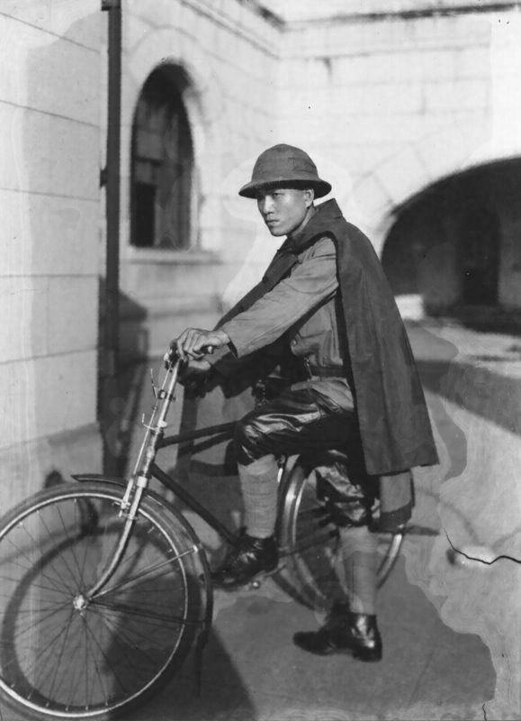 郵便外務員雨具 昭和10(1935)...