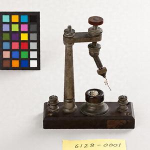 鉱石検波器(鉱石ラジオ 鳥潟検波器)