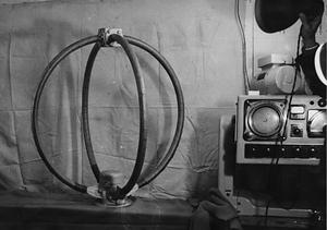 船舶無線電信機丸型アンテナ