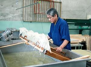 和紙:日本の手漉和紙技術 わし:にほんのてすきわしぎじゅつ