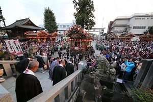 鹿沼今宮神社祭の屋台行事  かぬまいまみやじんじゃさいのやたいぎょうじ
