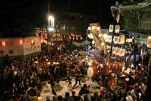 桑名石取祭の祭車行事 くわないしどりまつりのさいしゃぎょうじ