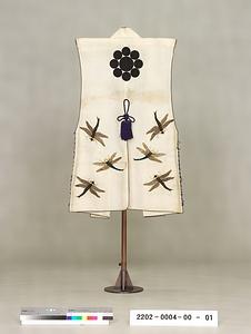 蜻蛉模様刺繍 陣羽織 とんぼもようししゅう じんばおり