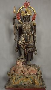 無量寺の不動明王像・毘沙門天像 文化遺産オンライン