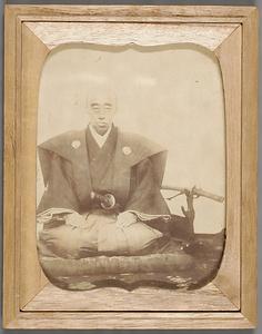 鍋島直正肖像写真(慶応二年) 文化遺産オンライン