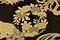 黒漆塗花枝円文蒔絵五段重
