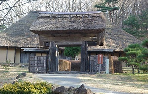 旧菅野家住宅(旧所在 岩手県北上市口内町) 表門 かんのけじゅうたく おもてもん